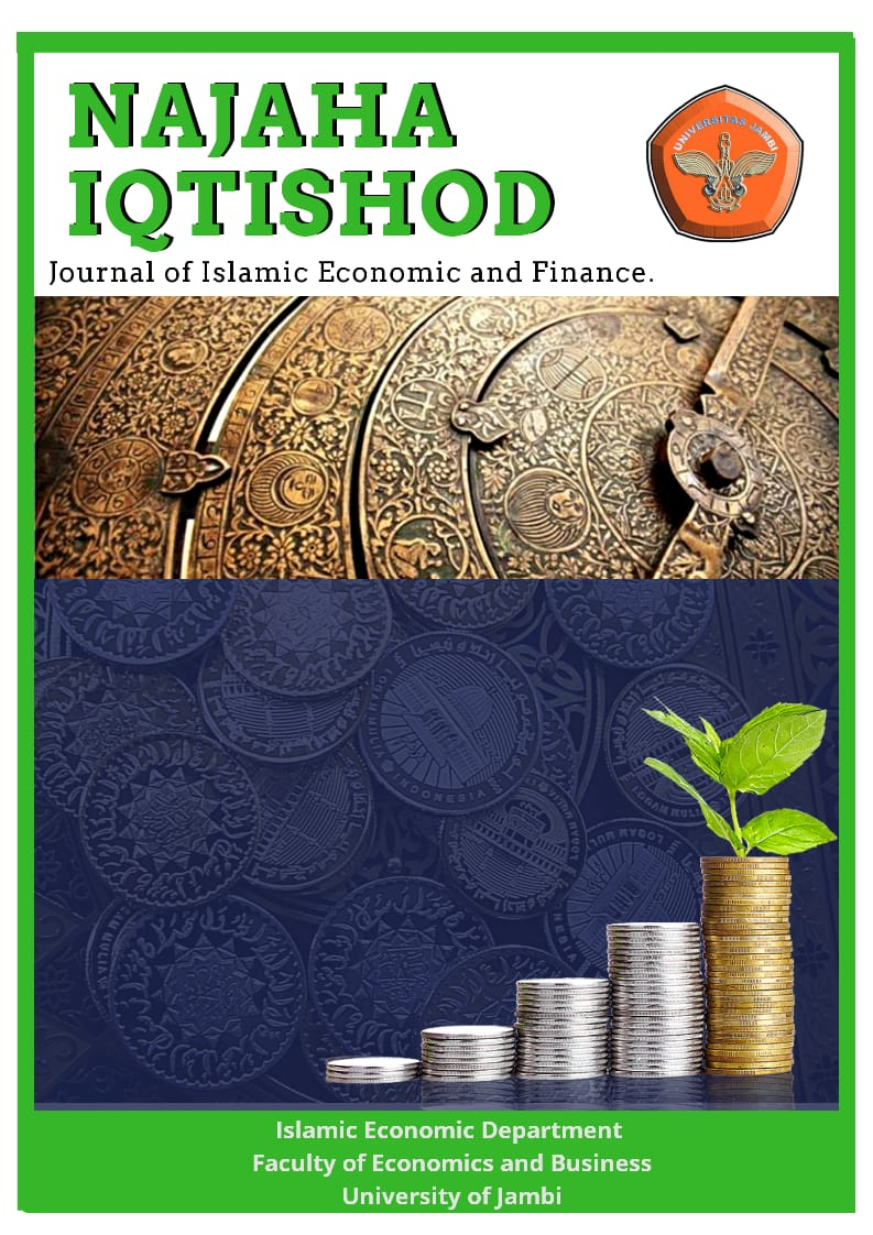 NAJAHA IQTISHOD Journal of Islamic Economic and Finance